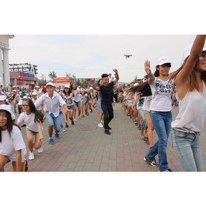 12 июня активисты ОНФ и молодежного движения «Добрые сердца Тувы» проведут флешмоб «Мы любим Россию»