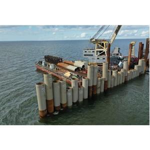 В морском порту Усть-Луга началось строительство терминала Lugaport