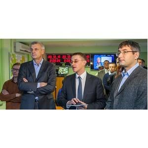 «Швабе» показал С. Носову возможности автоматизированной системы управления уличным освещением