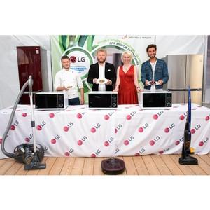 Кулинарный мастер-класс от LG «Мужчины дома» на Всероссийском форуме «Территория смыслов на Клязьме»