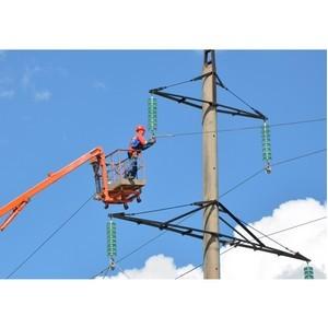 Ульяновские энергетики ремонтируют высоковольтные линии