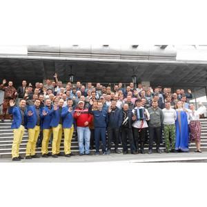 Костромичам-участникам учений в Тверской области коллеги «подарили» выступление КВН