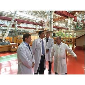 Владимир Гутенев посетил ПАО «Кузнецов», входящее в ОДК.