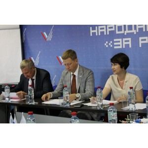 Эксперты ОНФ в Курганской области обсудили работу новых тематических площадок Народного фронта