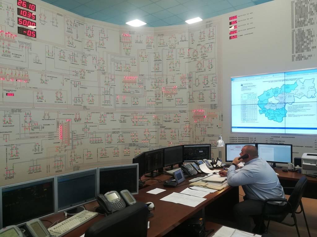 «Ивэнерго» принял участие в учениях по ликвидации аварийных ситуаций в энергетическом комплексе