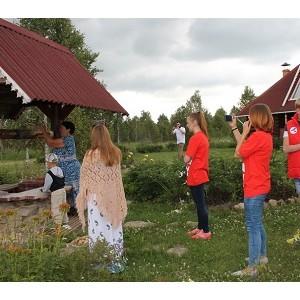 """јктивисты Ќародного фронта посетили одно из родовых поместий в """"ел¤бинской области"""