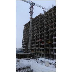 На ЖК «КосмосStar» холдинга «Аквилон-Инвест» возводят 12-й этаж