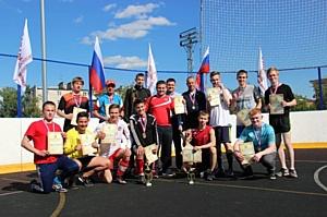 Состоялся заключительный этап академической спартакиады Дзержинского филиала РАНХиГС – мини-футбол