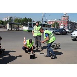 Активисты ОНФ проверили качество ремонта дорог Барнаула, отмеченных на карте «убитых» дорог