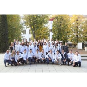 Ставропольские студенты исполнили в КБГУ песни Победы