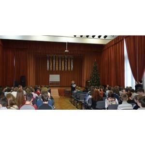 Сотрудники полиции Зеленограда провели профилактическую лекцию со школьниками