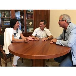 Астраханская область и «Рыбаков Фонд» договорились о сотрудничестве