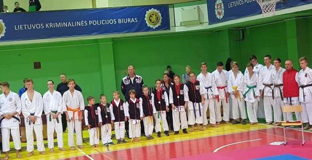 Яркое выступление каратистов Центра культуры «Хорошевский» на международном турнире в Литве