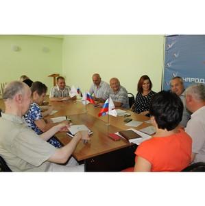 Липецкие активисты ОНФ обсудили планы регионального отделения на ближайшие месяцы