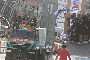 Iveco на ралли «Дакар-2015»: два пилота команды Petronas de Rooy в десятке лидеров