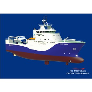 «Хотча Морское Проектирование» создаст уникальное судно для ресурсных исследований