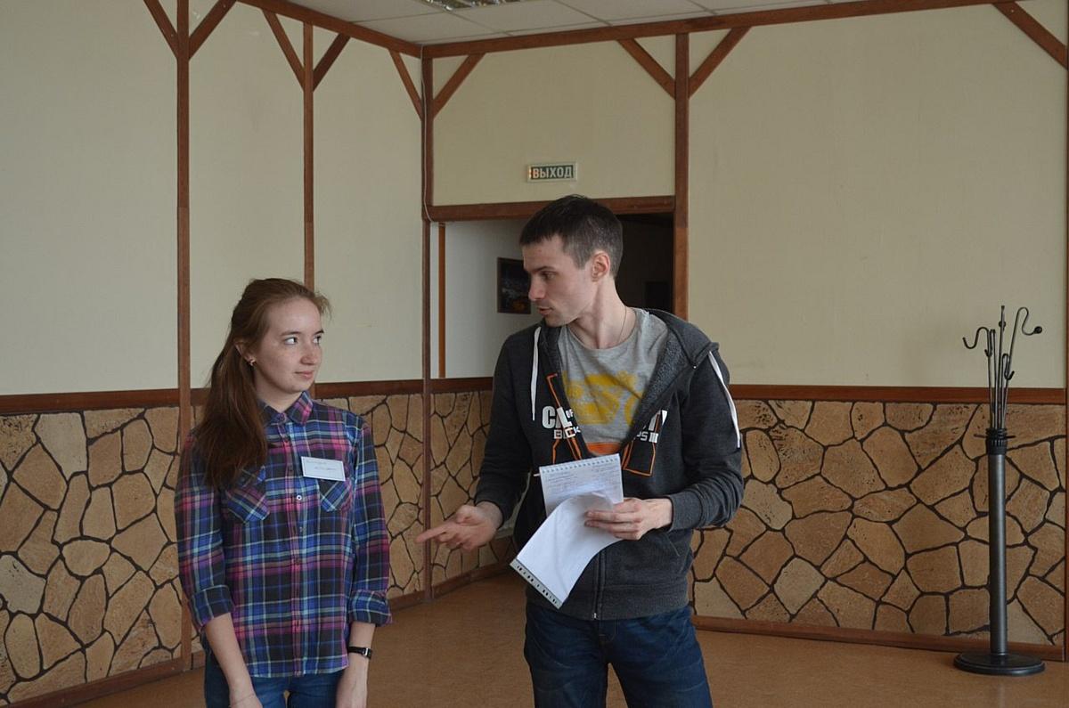 Молодые активисты учатся