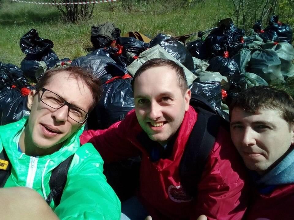 Омский филиал AB InBev Efes принял участие в Чистых Играх
