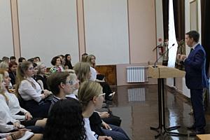 Активисты ОНФ провели в кировских школах уроки на тему «Россия, устремленная в будущее»