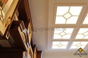 Светопрозрачные потолки - классические