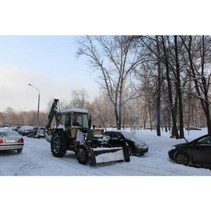 1700 единиц спецтехники задействовано при уборке снега во дворах Московской области