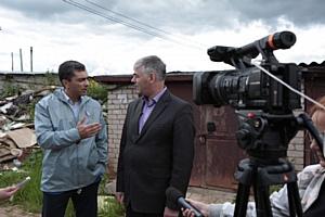Представители ОНФ проинспектировали стихийные свалки на территории Кирова
