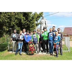 Сотрудники Тверьэнерго провели велопробег, посвященный 73 годовщине Великой Победы