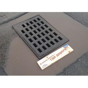 """јктивисты ќЌ' добились реконструкции ненормативных люков ливневой канализации в """"ел¤бинске"""