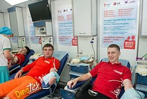 29 мая в Самаре  прошел День донора в рамках всероссийского проекта Марафон «Технология добра»