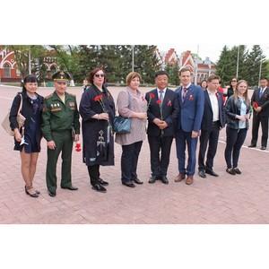 Активисты ОНФ в Амурской области продолжили серию праздничных мероприятий в честь Дня Победы