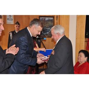 Мэр Орла вручил юбилейные медали ветеранам ВОВ