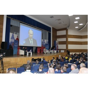 Петербургский ОНФ передал на региональной конференции пакет общественных предложений для губернатора