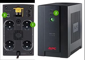 Новые ИБП  BX1100CI-RS и BX800CI-RS разработаны APC специально для России
