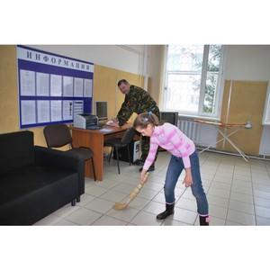 Полиция Зеленограда приняла участие в общегородском субботнике
