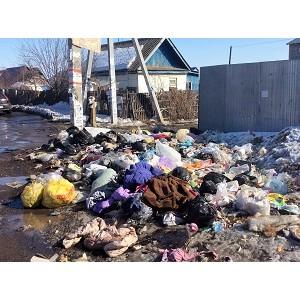Активисты ОНФ в Оренбургской области в рамках проекта «Генеральная уборка» провели рейд по свалкам