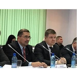 Заседание комиссии конкурса