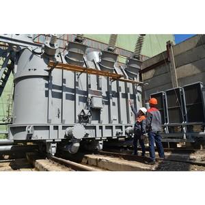 На Чебоксарской ТЭЦ-2 выполнен капитальный ремонт блочного трансформатора 1ГТ
