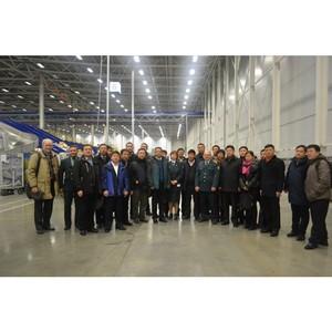 Московская таможня приняла гостей из Китая
