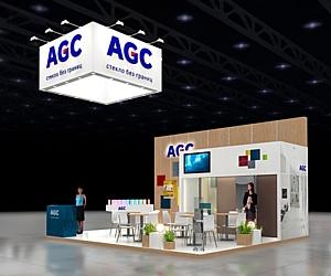Качество, экологичность и яркие краски продуктов AGC на выставке «СтройСиб – 2014»