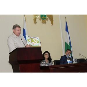 Народный фронт принял участие в церемонии награждения семей Нальчика медалями «За любовь и верность»