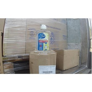 300 литров дезсредств задержано таможенниками при вывозе в Казахстан