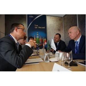 На ПМЭФ правительство Самарской области и «Балтика» обсудили развитие пивоваренной отрасли