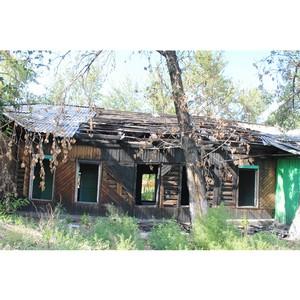 Активисты ОНФ отметили на интерактивной карте свалку на территории заброшенного здания в Кызыле