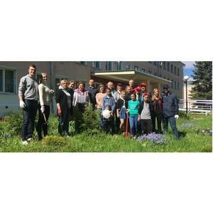 Волонтеры «Нестле» приняли участие в акции «День сада»