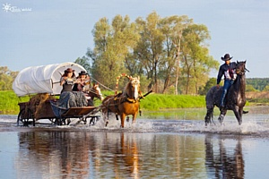 Wild Western Festival 2016 на Ранчо Аванпост, Московская обл.