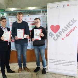 Республика Мордовия принимает участие в межрегиональном донорском марафоне «Достучаться до сердец»