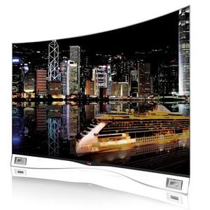 Компания LG представляет  на российском рынке OLED-телевизор с изогнутым экраном
