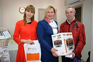 Призеры акции «В Новый год - без долгов!» в Чебоксарах получили подарки от компании «ЭнергосбыТ Плюс»