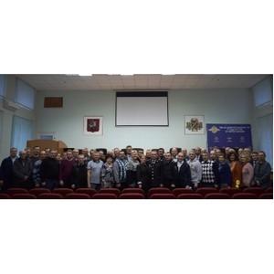В УВД Зеленограда состоялась первая Конференция ветеранов органов внутренних дел округа