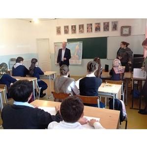 Фронтовики провели патриотический урок «Россия и Крым – Мы вместе» в дагестанском райцентре Леваши